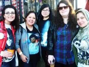 Michael Jackson Fans Matilda Harris and Friends