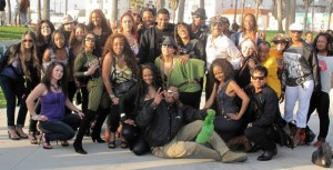Soul Train Gang - Venice Beach, CA -2012